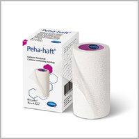 Бинт медицинский эластичный фиксирующий EM-Fix Soft, размером 6см х 4м, белый, упаковка 20 шт