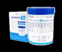 Тест на 12 видов наркотиков ИммуноХром-НАРКО-Экспресс Мульти-12
